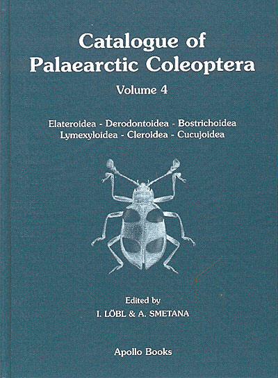 Catalogue of the Palaearctic Coleoptera